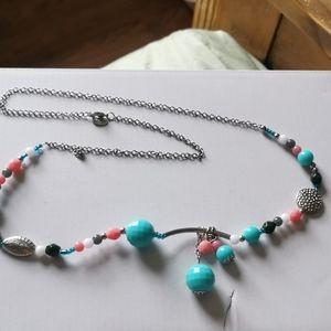 Super cute unique style colorful summer necklace